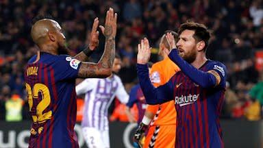 Barcelona oo guul dirqi ah ka gaartay kooxda Real Valladolid + Sawiro