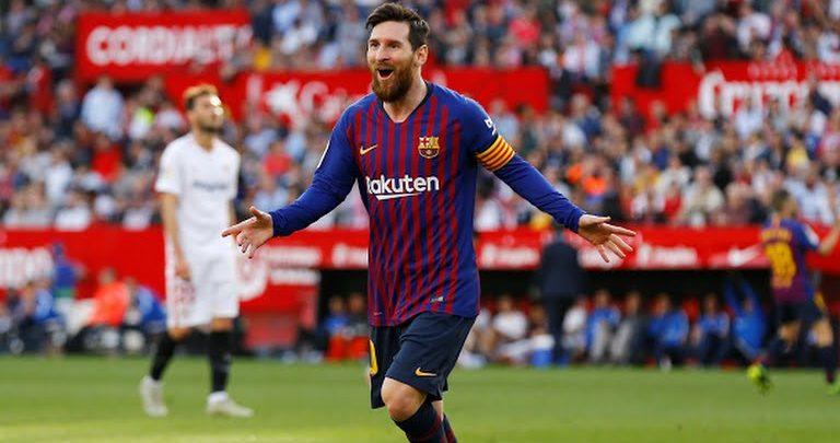 Valverde oo si weyn u amaanay Lionel Messi kadib guushii weyneed ay ka gaareen Sevilla