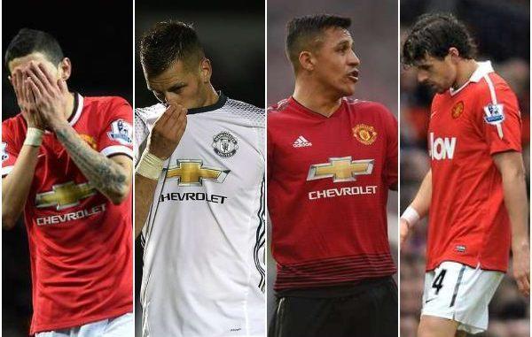 Di Maria, Sanchez iyo Djemba-Djemba oo ka mid ah 15-kii saxiix ee abid ugu xumaa oo soo mara Kooxda Manchester United!!