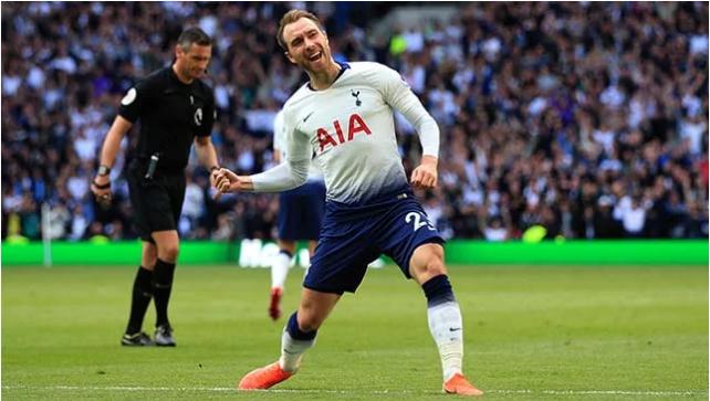 Christian Eriksen oo ay wali ka Go'an tahay inuu ciqaabo kooxda Tottenham