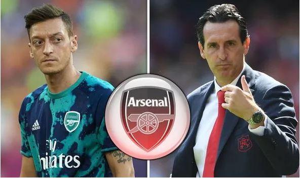 Macallin Kooxda Arsenal ee Unai Emery oo ka hadlay xaaladda Mesut Ozil & Haddii uu laacibku diyaar u yahay kulanka berri ee Liverpool