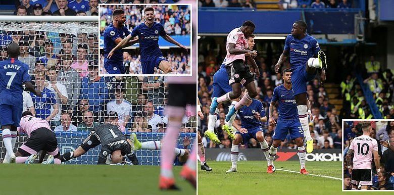 Kooxaha Chelsea iyo Leicester City oo barbaro ku kala baxay, xili ay Blues wali guul gaari la'adahay… + SAWIRRO