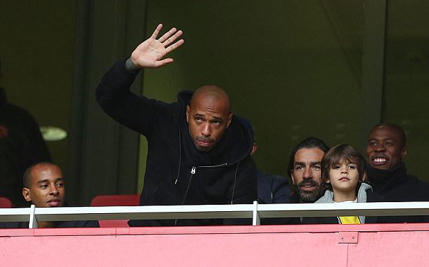 Thierry Henry oo si cad u sheegay in si dhuumaaleysi ah ku daawado kulamada Arenal