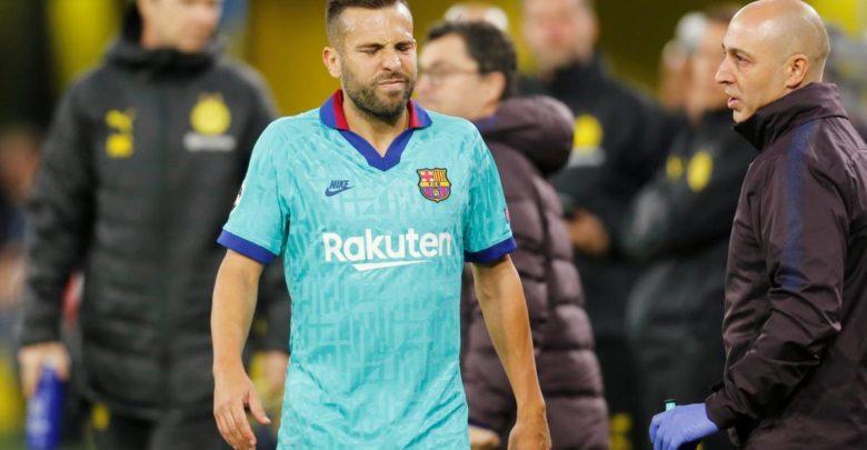 Kooxda Barcelona oo ka hadashay nooca uu yahay dhaawaca soo gaaray Jordi Alba