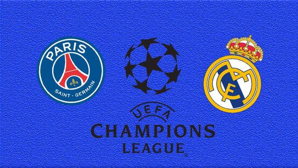 Shaxda rasmiga ah kulanka kooxaha PSG iyo Real Madrid ee tartanka Champions League.