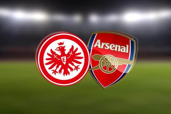 Shaxda rasmiga ah kulanka kooxaha Eintracht Frankfurt iyo Arsenal ee tartanka Europa League