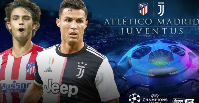Shaxda rasmiga ah kulanka kooxaha Atletico Madrid iyo Juventus ee tartanka Champions League
