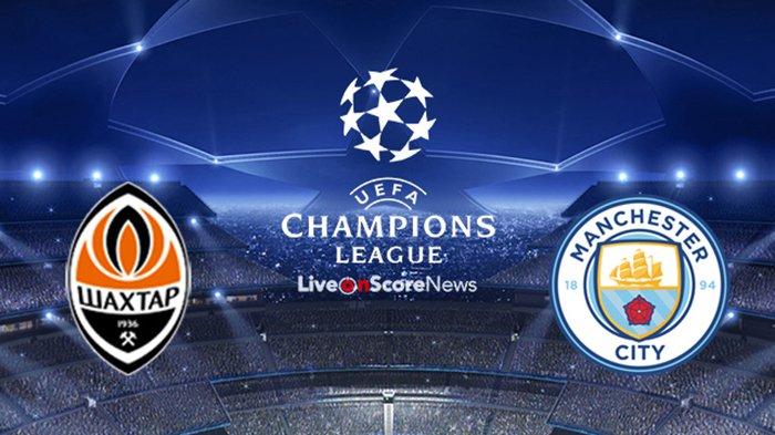 Shaxda rasmiga ah kulanka kooxaha Shakhtar Donetsk iyo Man City ee tartanka Champions League