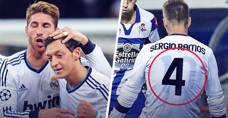 Maxay tahay sababta Yaabka leh ee Ramos uu lambarka Ozil uga hoos xirtay maaliyaddiisa lambarka 4-aad ee Real Madrid?