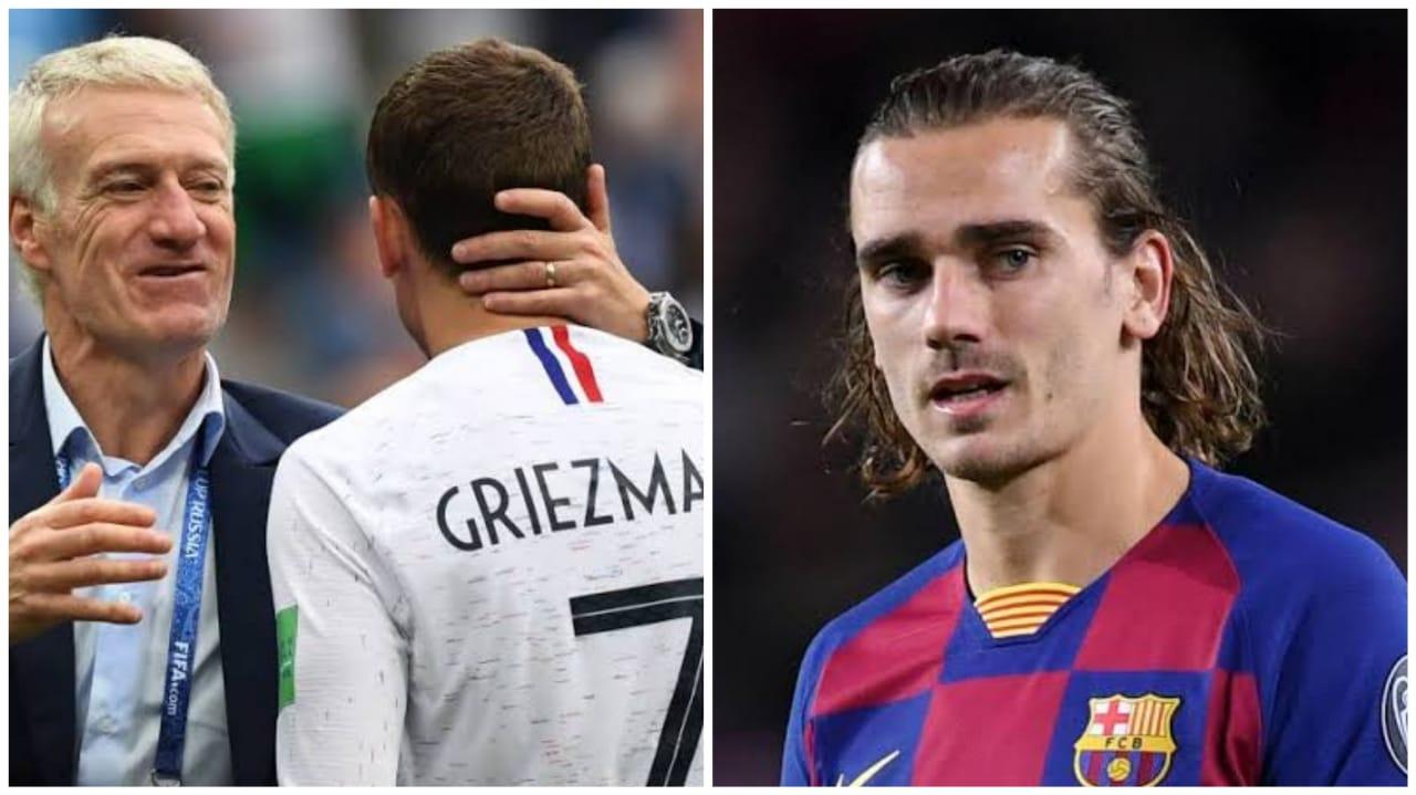 Didier Deschamps oo si maldahan u weeraray Ernesto Valverde, sababo la xiriira Antoine Griezmann