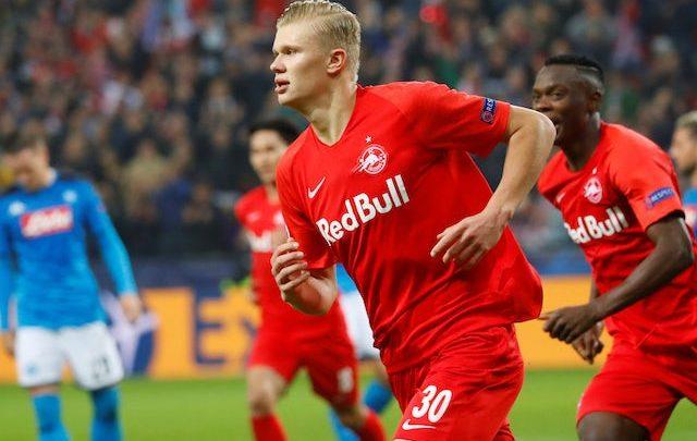 Erling Haaland Aabihiis oo booqday xerada Tababarka Kooxda Manchester United