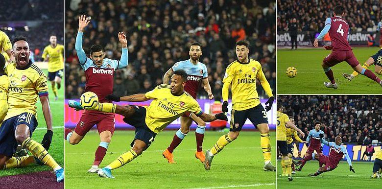 Arsenal oo ugu dambeyntii ku soo laabatay wadada guusha, kaddib markii ay ka adkaatay West Ham … + SAWIRRO