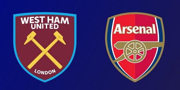 Shaxda rasmiga ah kulanka kooxaha West Ham Iyo Arsenal ee horyaalka Premier League oo la shaaciyey