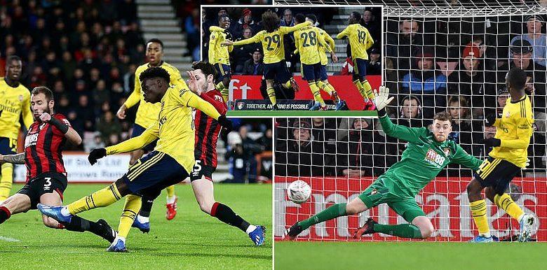 Arsenal oo u gudubtay wareegga shanaad ee Koobka FA Cup-ka kaddib markii ay ka adkaatay Bournemouth… + SAWIRRO