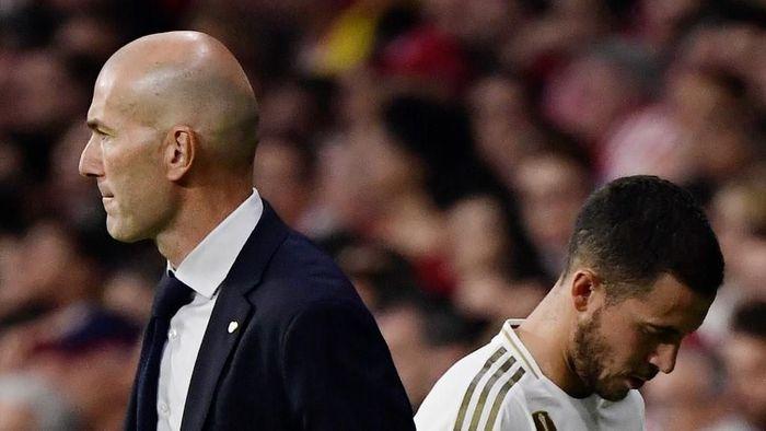 Zinedine Zidane oo ka hadlay xilliga uu soo laabanayo Eden Hazard