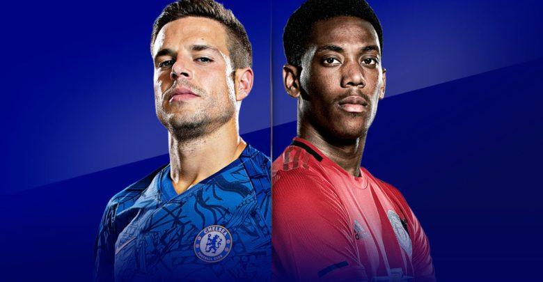 Shaxda rasmiga ah kulanka Chelsea iyo Man United ee horyaalka Premier League oo la shaaciyay