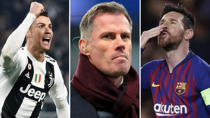"Cristaino Ronaldo si maskaxeysan ayuu kaga orday Lionel Messi, sababtoo  ah…"" – Jamie Carragher – Gool FM"