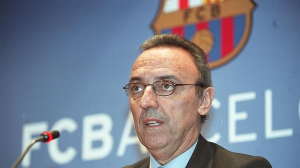 Madaxweynihii hore Barcelona ee Joan Gaspart oo si xoogan u dhaleeceeyay Xiriirka Kubadda Cagta Spain