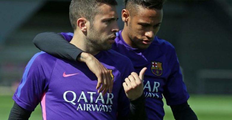 Muxuu ka yiri Jordi Alba wararka shegaya in Neymar Jr uu dib ugu soo laabanayo Barcelona?