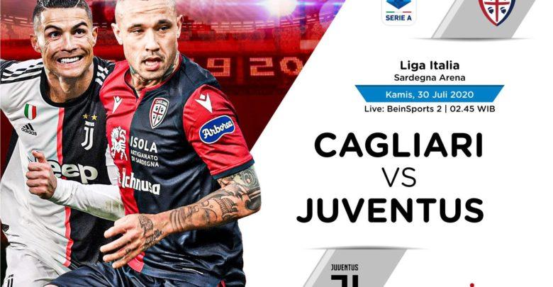 Shaxda rasmiga ah Cagliari iyo Juventus oo la shaaciyay…(Miyuu ku soo bilowday Cristiano Ronaldo?)