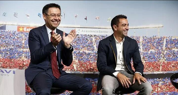 """""""Xavi wuxuu noqon doonaa macalinka kooxda Barcelona"""" – Josep Maria Bartomeu"""