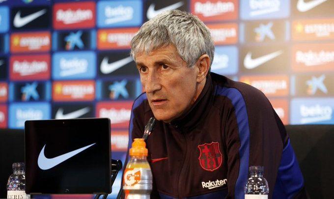 Quique Setién oo si RASMI ah ugu dhawaaqay liiska xiddigaha Barcelona ee ka qeyb galaya kulanka Real Valladolid