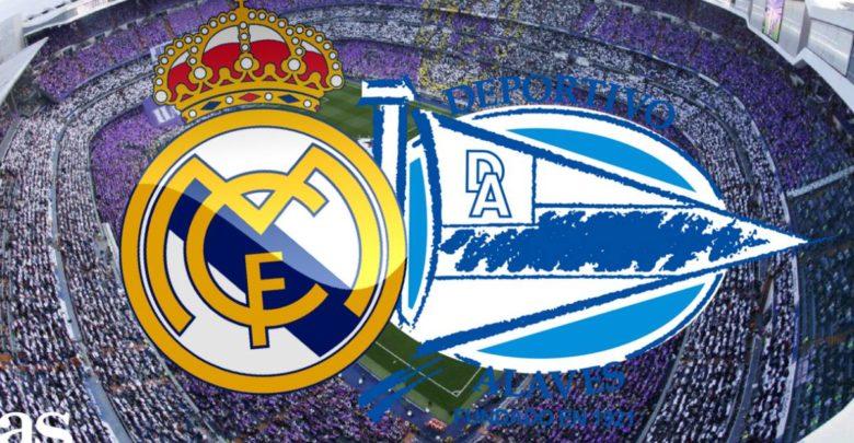 Shaxda rasmiga ah kulanka kooxaha Real Madrid iyo Deportivo Alaves ee horyaalka La Liga oo la shaaciyay
