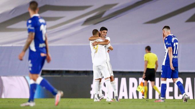 Real Madrid oo guul ay u qalantay ka gaartay kooxda Deportivo Alaves… +SAWIRRO
