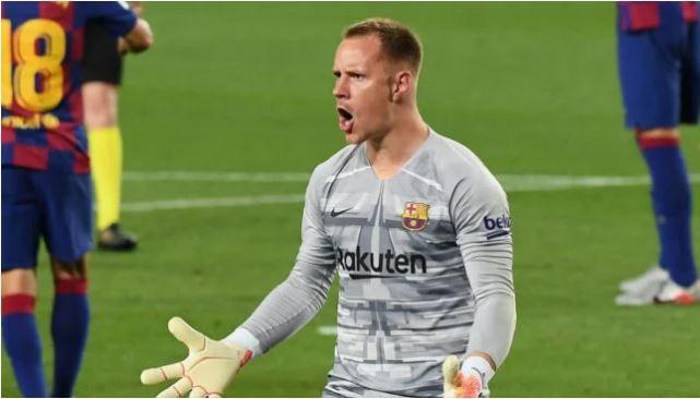 Ter Stegen oo rikoodh cajiib ah ka sameeyay kulankii xalay dhex maray kooxaha Barcelona iyo Real Valladolid