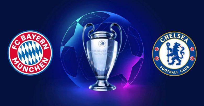 Shaxda rasmiga ah kulanka Champions League ee kooxaha Bayern München iyo Chelsea oo la shaaciyay