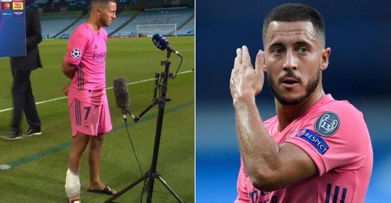 Muxuu Eden Hazard ka yiri in Kooxdiisa Real Madrid laga soo reebay tartanka Champions League xilli Canowga uu baraf ugu duubnaa?