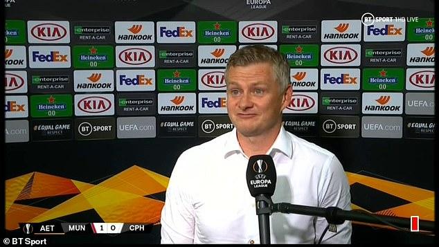 Ole Gunnar Solskjær oo ka hadlay dareenkiisa kaddib markii ay Man United u gudubtay wareega afarta ee tartanka Europa League
