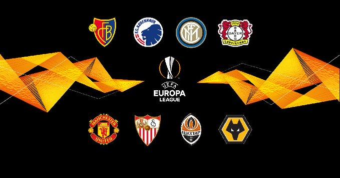 Isku aadka wareegga siddeed dhammaadka tartanka Europa League oo dhammaystirmay & Goorta la ciyaari doono oo la shaaciyey