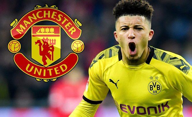 Halkee ayuu marayaa heshiiskii Dortmund iyo Man United ee ku aaddanaa saxiixa Jadon Sancho?
