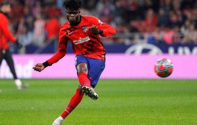 Arsenal oo loo sheegay inay bixiso lacagta lagu burburin karo qandaraaska xiddiga Kooxda Atletico Madrid ee Thomas Partey