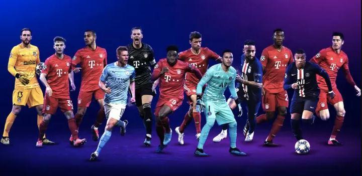 RASMI: Xiddigaha u sharran abaal-marinnada laacibka boos walba ugu fiican sanadka UEFA ee Weerarka, Khadka dhexe, Daafaca iyo Goolhayaha oo la shaaciyey… (Messi iyo Ronaldo oo laga waayey!)