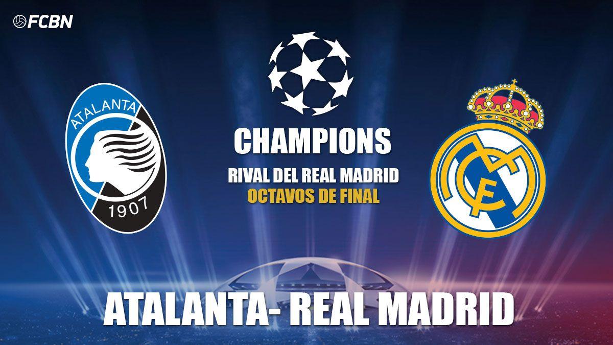 Shaxda rasmiga ah kulanka adag Kooxaha Atalanta iyo Real Madrid ee tartanka UEFA Champions League oo la shaaciyey